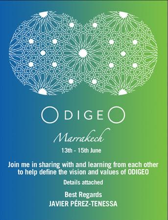 Odigeo invite design