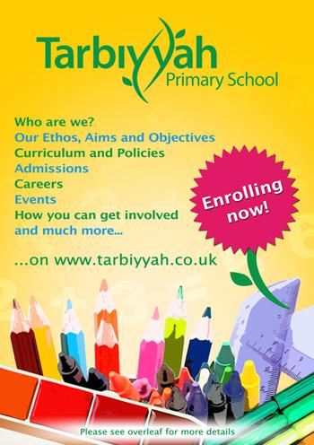 Tarbiyyah flyer design