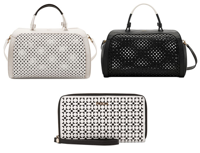 Furla - Cut-out bags and patterned wallets