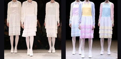 AW 2013-14 collection by Kunihiko Mohinara for ANREALAGE