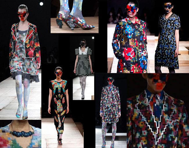 AW 2011-12 collection by ANREALAGE, Japanese Fashion